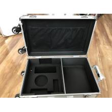 Caixas de alumínio para ferramentas elétricas com espuma recortada