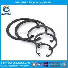 DIN472 anillos de retención internos de alta calidad, anillos de retención para orificio JIS B 2804