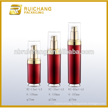 15ml/30ml/60ml acrylic cream jar/bottle , round acrylic cream jar/bottle