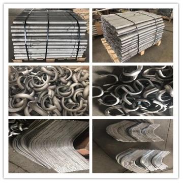 Protection de bouclier d'érosion de tube de chaudière d'acier inoxydable