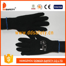 Ddsafety Black Cotton Knitted Work Glove En388