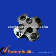 Broca de seis agujeros personalizada de acero al carbono para la mía
