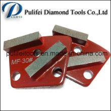 Oval Arrow Block Shape Concrete Floor Renovation Diamond Grinding Segment