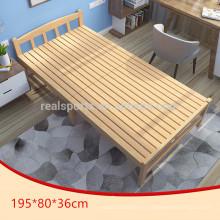 Camas de madeira da cama de acampamento por atacado dos projetos cama de madeira