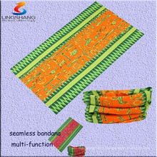 LINGSHANG 5263 multifunction seamless tube bandana vintage hair accessories