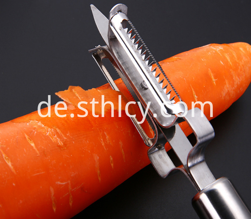 Multi-functional fruit peeler