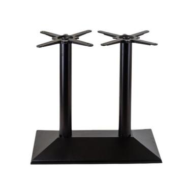 Hot sale double column dining table legs