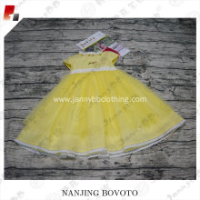 Wholesale embroidery designs baby dress