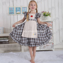 baby girls plaid party dresses