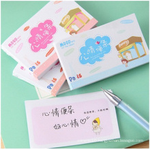 Mini Printed Meo Pad, Cute Mood Sticky Notes, 50sheets