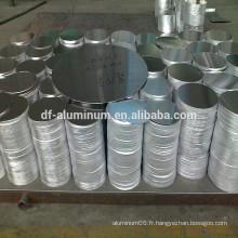 Cercle d'aluminium 1100 pour frire