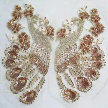 Fashion beaded applique