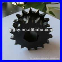 Black oxide double row sprocket