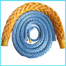 Trança de fibra UHMWPE corda de amarração da costa
