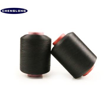 gefärbter Polyester gesponnen 2075 20100 20150 40150 40100 4075 elastisches Gummigarn