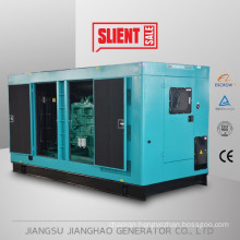 with 8 hours fuel tank 275kva silent generator manufacturer in China 220kw soundproof diesel gensets price
