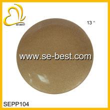 13INCH Melamine Plate,Melamine Dish,Gold Melamine Plate