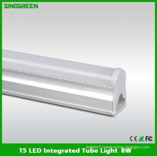 Ce RoHS High Quality T5 LED Integrated Tube Light 8W