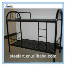 Cama de beliche do preço barato do metal cama do estilo do leste do leste