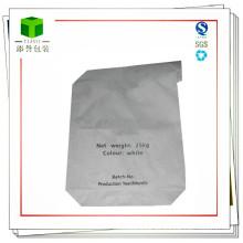 Bolsas de papel de la válvula de Kraft para el embalaje del pegamento de la baldosa cerámica