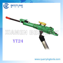Underground Air Leg Horizontal Rock Drill Yt24/Yt28 and Spare Parts