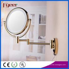 Fyeer Ultra Thin Foldable Golden LED Makeup Mirror (M1208GTF)