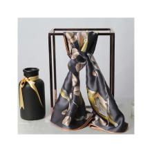 Eco-friendly material silk scarf