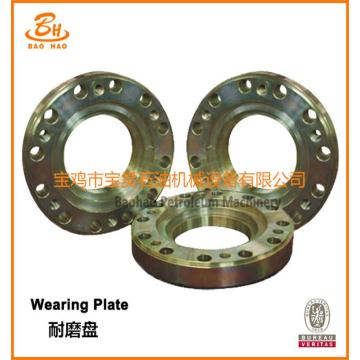 Wear Resistant Plate For Oil Well Drilling Triplex Mud Pump