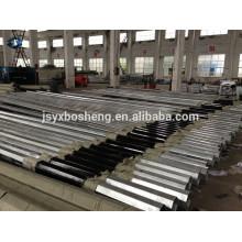 Chinese Standard Hot DIP galvanizado eléctrico de acero octogonal polo