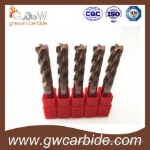 Hartmetallfräser 4 Nuten HRC50