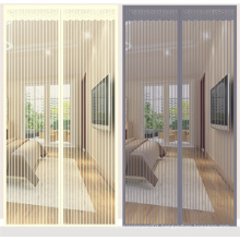 2020 new design magnetic mosquito net door curtain with full frame and strong magnet for Anti Mosquito