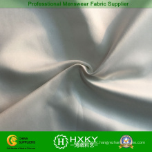 Nylon Polyester Twilled Bleached Microfiber Fabric for Bomber Jacket