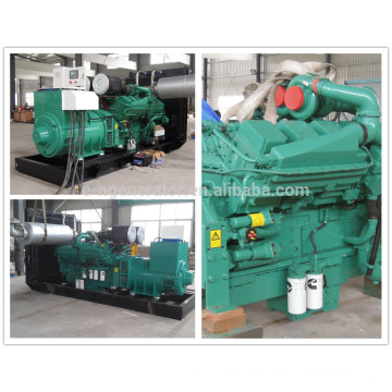 Power station Project 1500kva generator diesel with Open or silent type