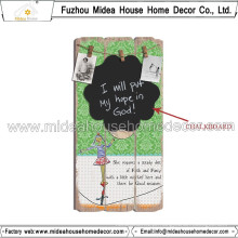 Direto da fábrica] Hot Sale Hanging Chalkboard Decorative Hanging Chalkboard