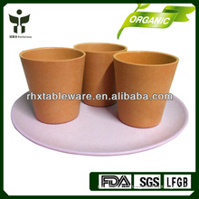 Colorful PLANT FIBER drinking tea sets