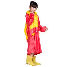 Impermeable de moda poncho para niños ropa de lluvia de PVC