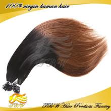 Fashion Hair Style Ombre U Spitze Haarverlängerung