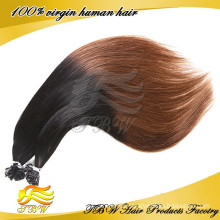 Fashion Hair Style Ombre U Tip Hair Extension