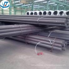 Made in China comprimento de barra de aço redondo preto laminado a quente 9m