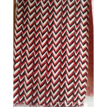 50% de seda 50% lã de tecido impresso shawl