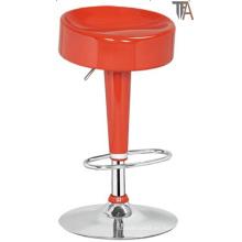 Taburete de color rojo para muebles de bar (TF 6009)