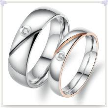 Joyería de moda anillos de acero inoxidable amantes (SR585)
