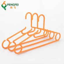 wholesale supermarket space saving cloth recycled cheap plastic clothes hanger