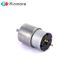 10rpm 12v high torque low rpm dc brushed gear motor supplied by Kinmore motor