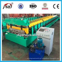 Máquina profissional formadora de rolo de telha de metal de aço profissional
