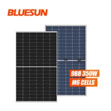 Bificial Double Glass Mono 360 Watt Solar Panel Monocrystalline Solar Panel 380w Paneles Solares House