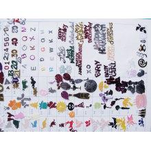Confettis de couleur et de Design graphique DSC02295