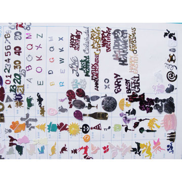 Confetti de cor e Design gráfico DSC02295