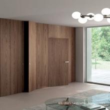 Kent style interior flush door designs catalogue invisible door for villa