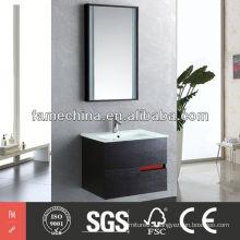 Hangzhou Oak Wood Verneer Bathroom Cabinet